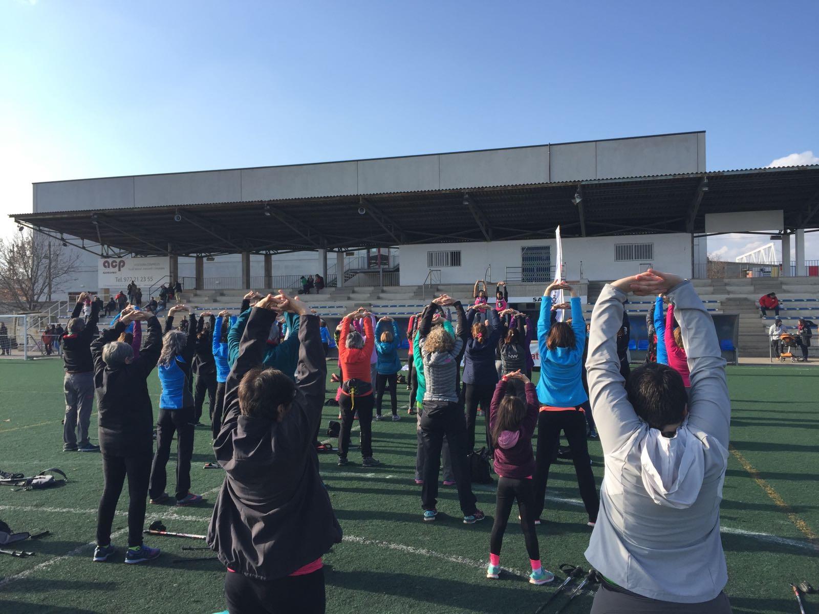 Els estudiants de 4t curs de CAFE d'EUSES-UdG organitzen a Salt diferents activitats solidàries en el marc de la Marató de TV3