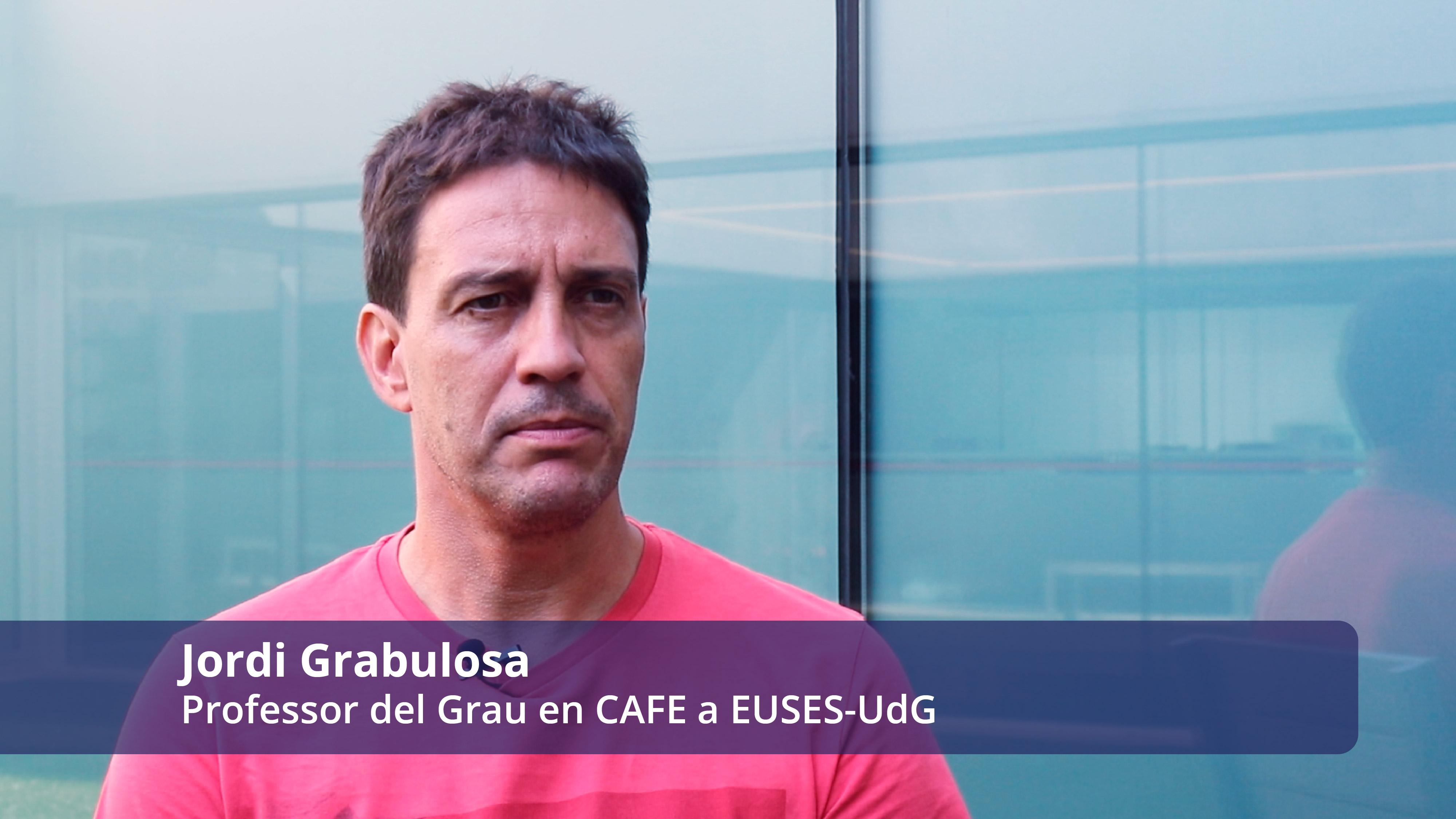 En què consisteix l'assignatura de Futbol II? El professor, Jordi Grabulosa ens dóna els detalls