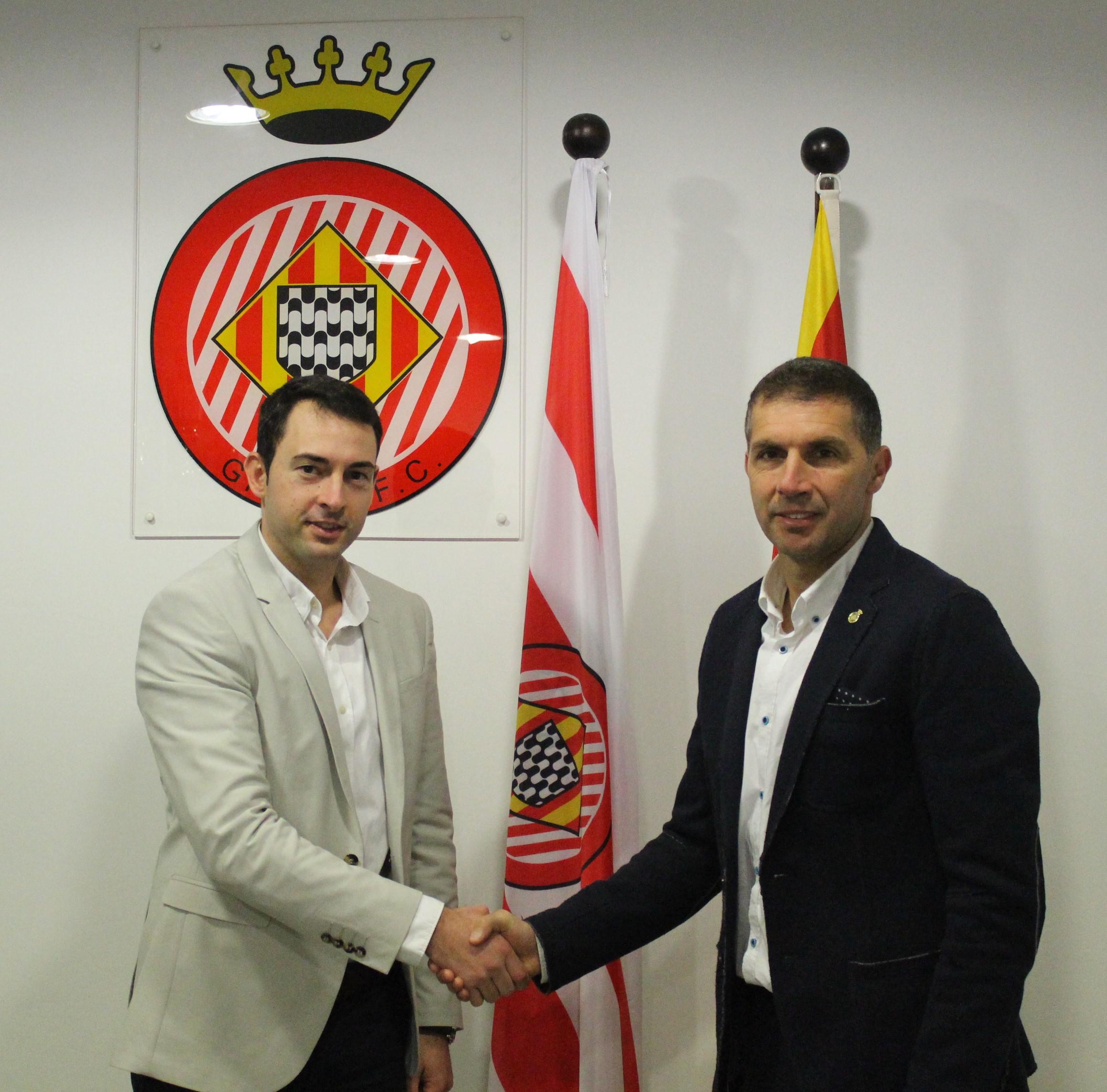 L'Escola Universitària de la Salut i l'Esport i el Girona FC renoven el seu acord de col·laboració