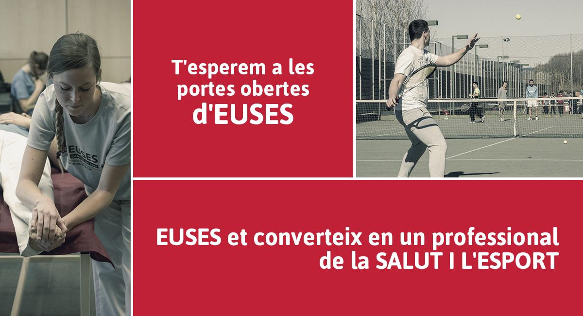 Jornades de Portes obertes a EUSES, la Universitat de la Salut i l'Esport