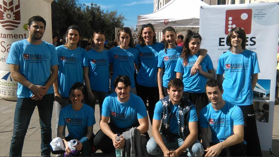 L'Escola Universitària de la Salut i l'Esport recupera els esportistes en la cursa popular i amb finalitat solidària de Les Vetes