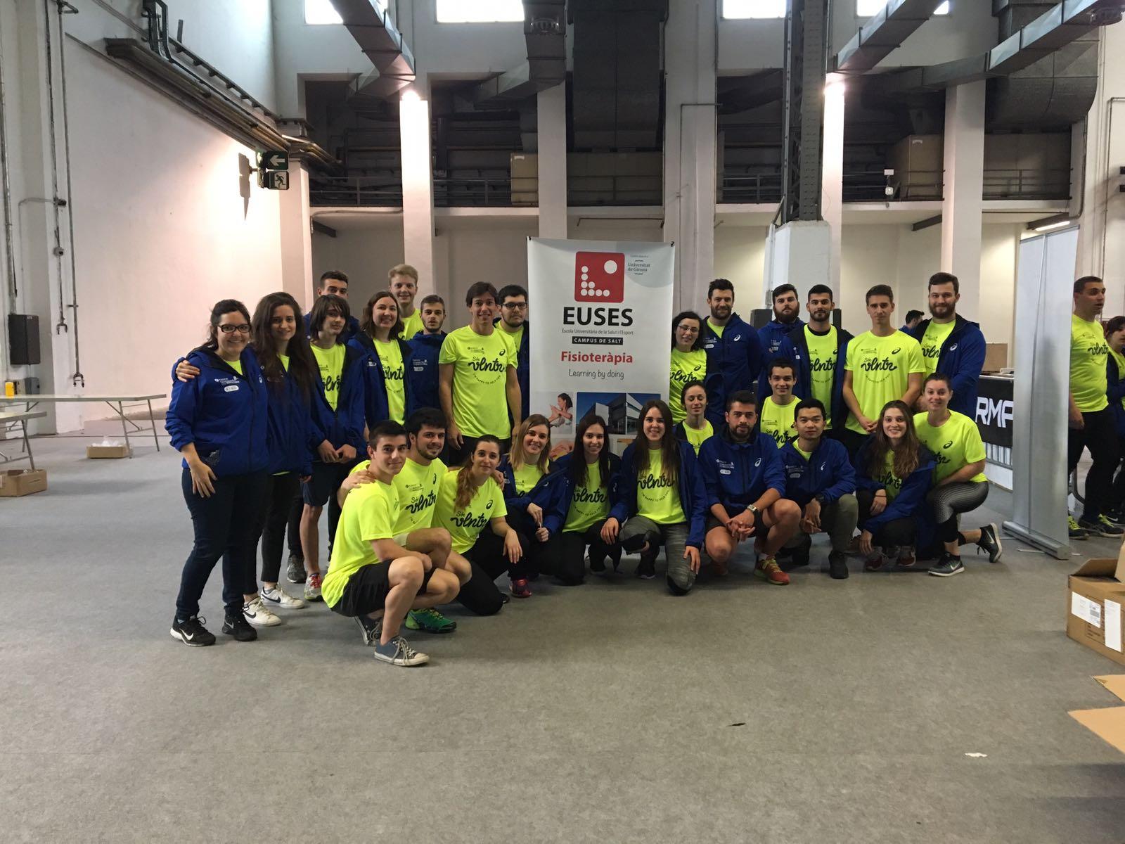 EUSES destina una quarantena d'estudiants per recuperar els participants de la Marató de Barcelona