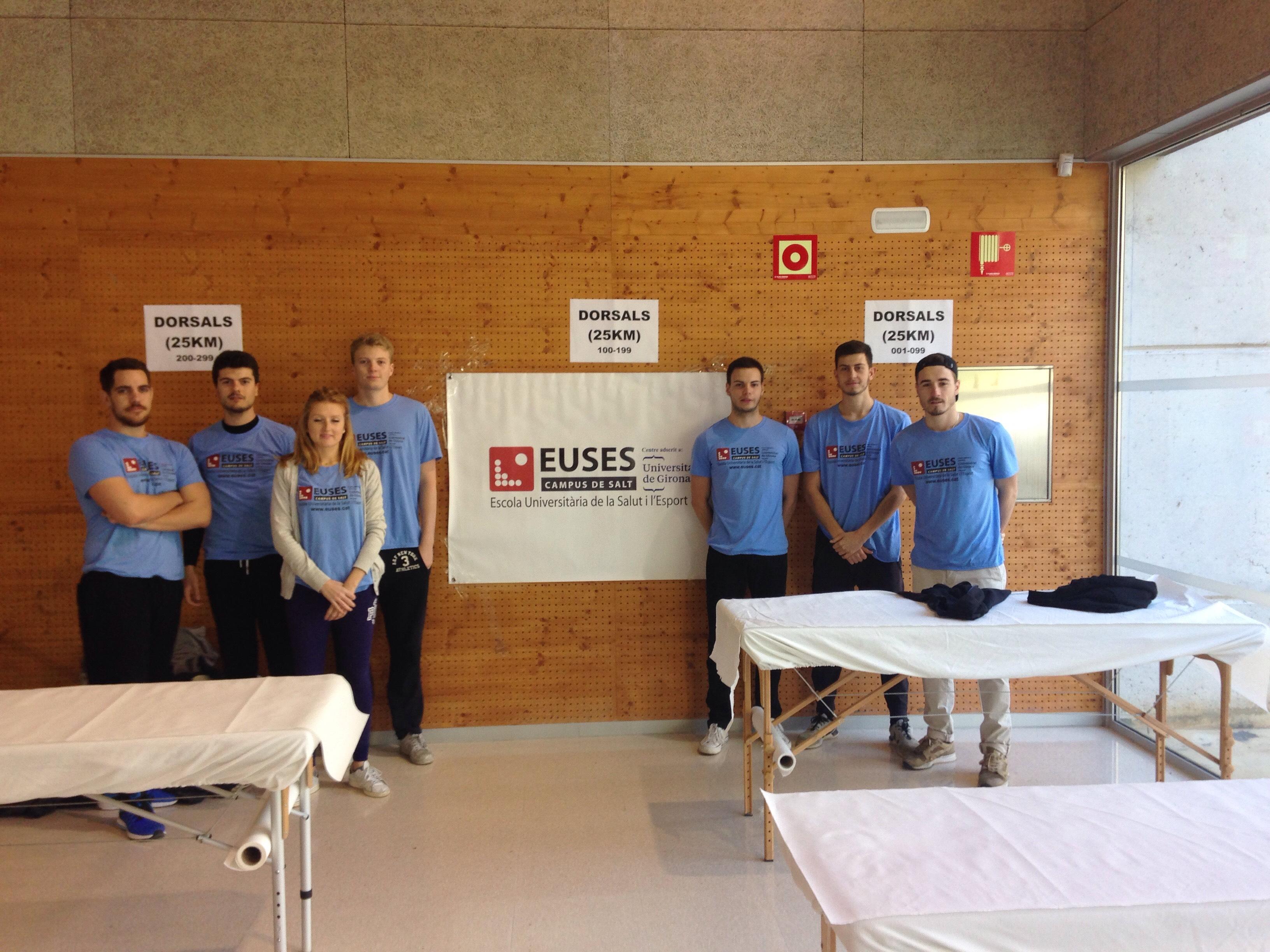 L'Escola Universitària de la Salut i l'Esport, present en una nova edició de la cursa de muntanya Montserrat Skyrace
