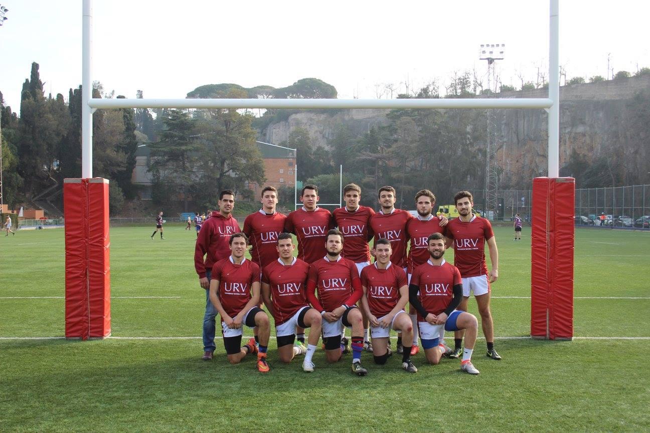 La selecció de rugbide laURV, formada íntegrament per alumnes d'EUSES-TE, guanya el campionat català universitari de Rugbi a 7