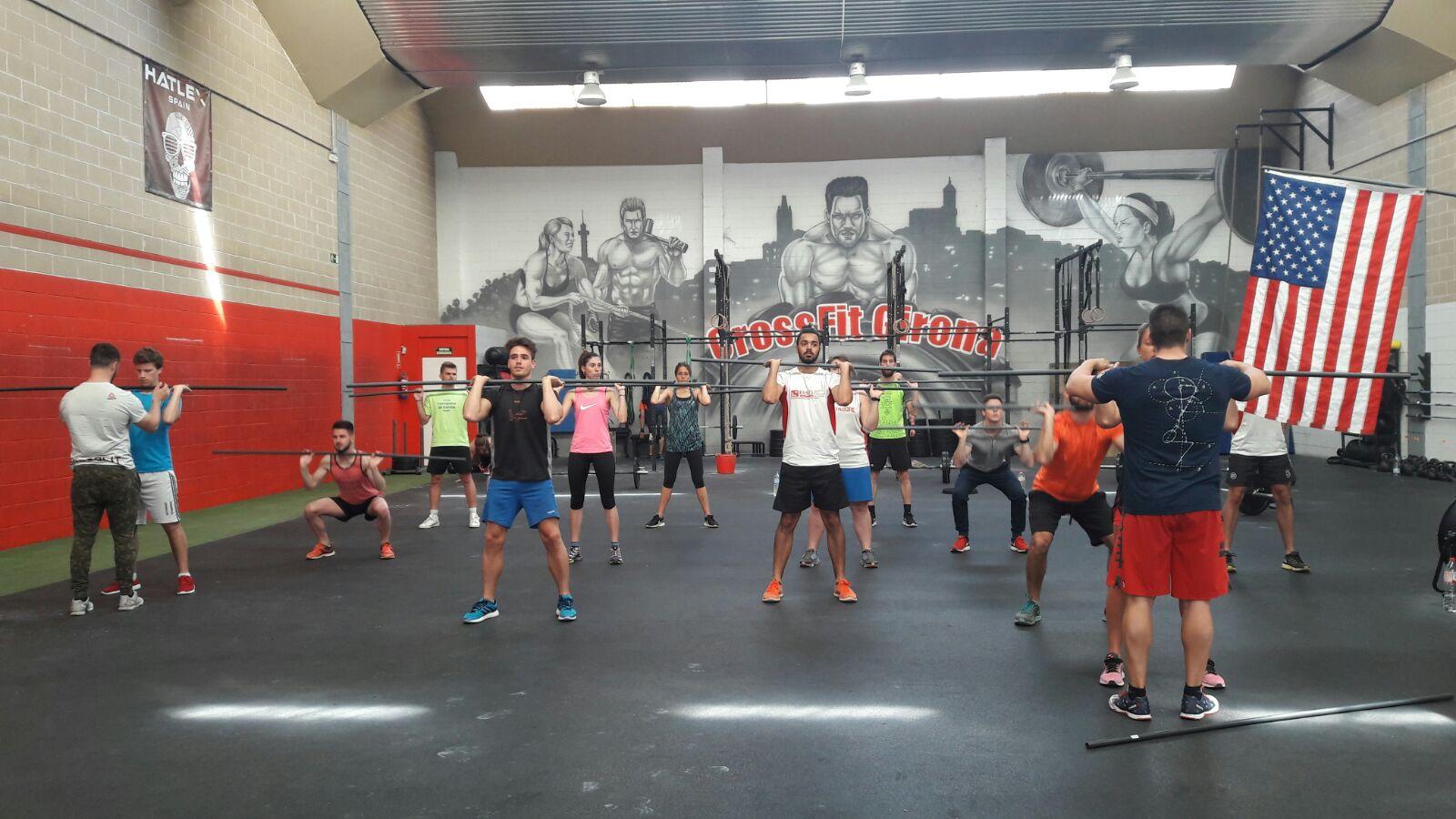 Estudiants de 3r de CAFE d'EUSES s'endinsen en el món del CrossFit en el marc de l'assignatura de Noves Tendències de l'Entrenament