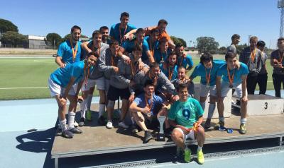 L'equip de futbol de la UdG, amb sis estudiants d'EUSES, es penja la medalla de plata en el campionat d'Espanya universitari i obté plaça per al mundial