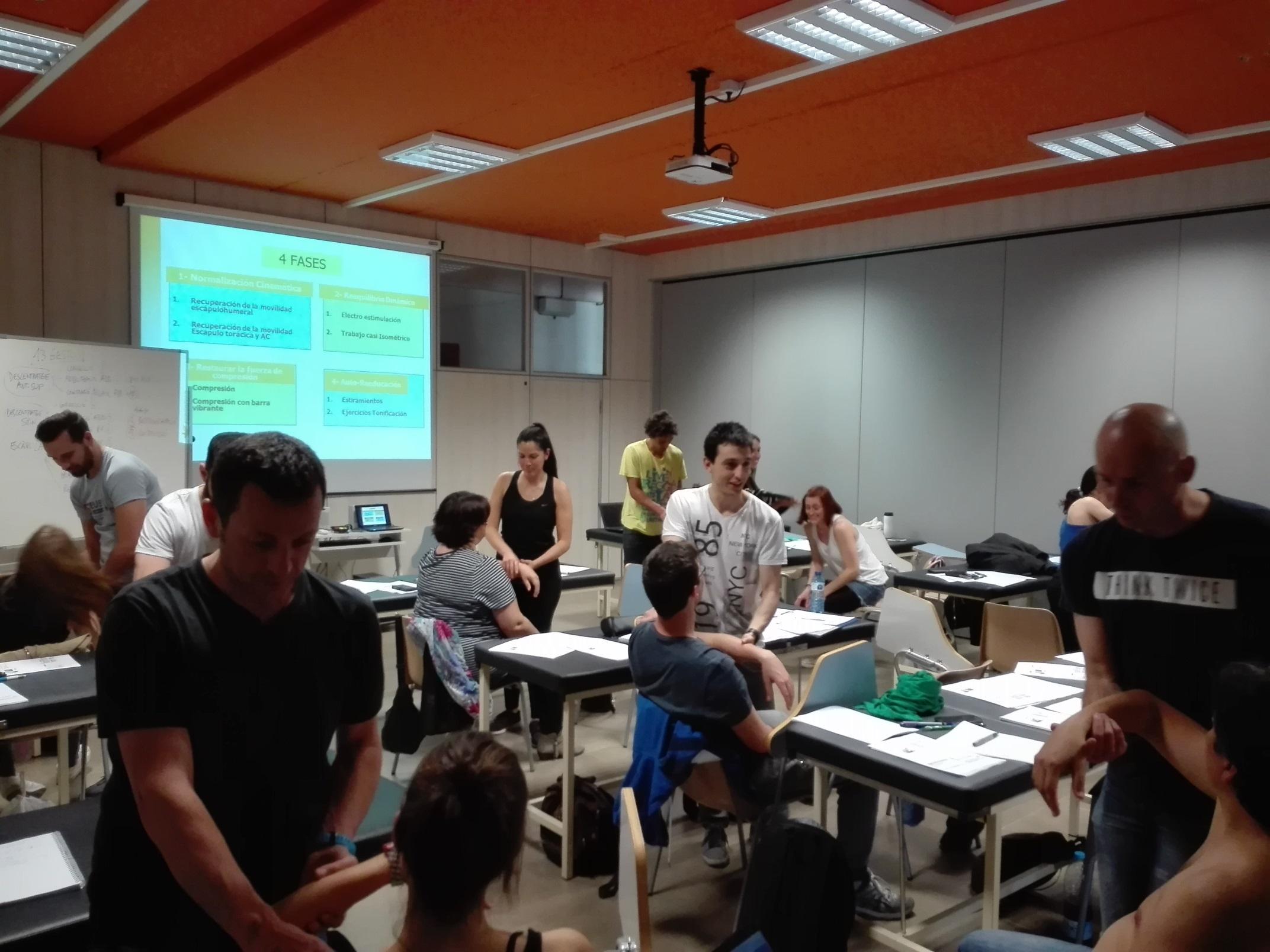 Set novetats en l'oferta de formació continuada de Fisioteràpia d'EUSES 2017/18, amb onze cursos i un seminari