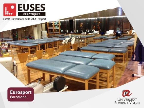 Si vous souhaitez réaliser votre stage dans l'un des centres sanitaires de référence tels que le Parc Sanitaire Sant Joan de Déu, l'Eurosport de Barcelone ou l'Hôpital de Tortosa Verge de la Cinta, n'hésitez plus, choisissez la licence de kinésithérapie de l'EUSES Terres de l'Ebre !