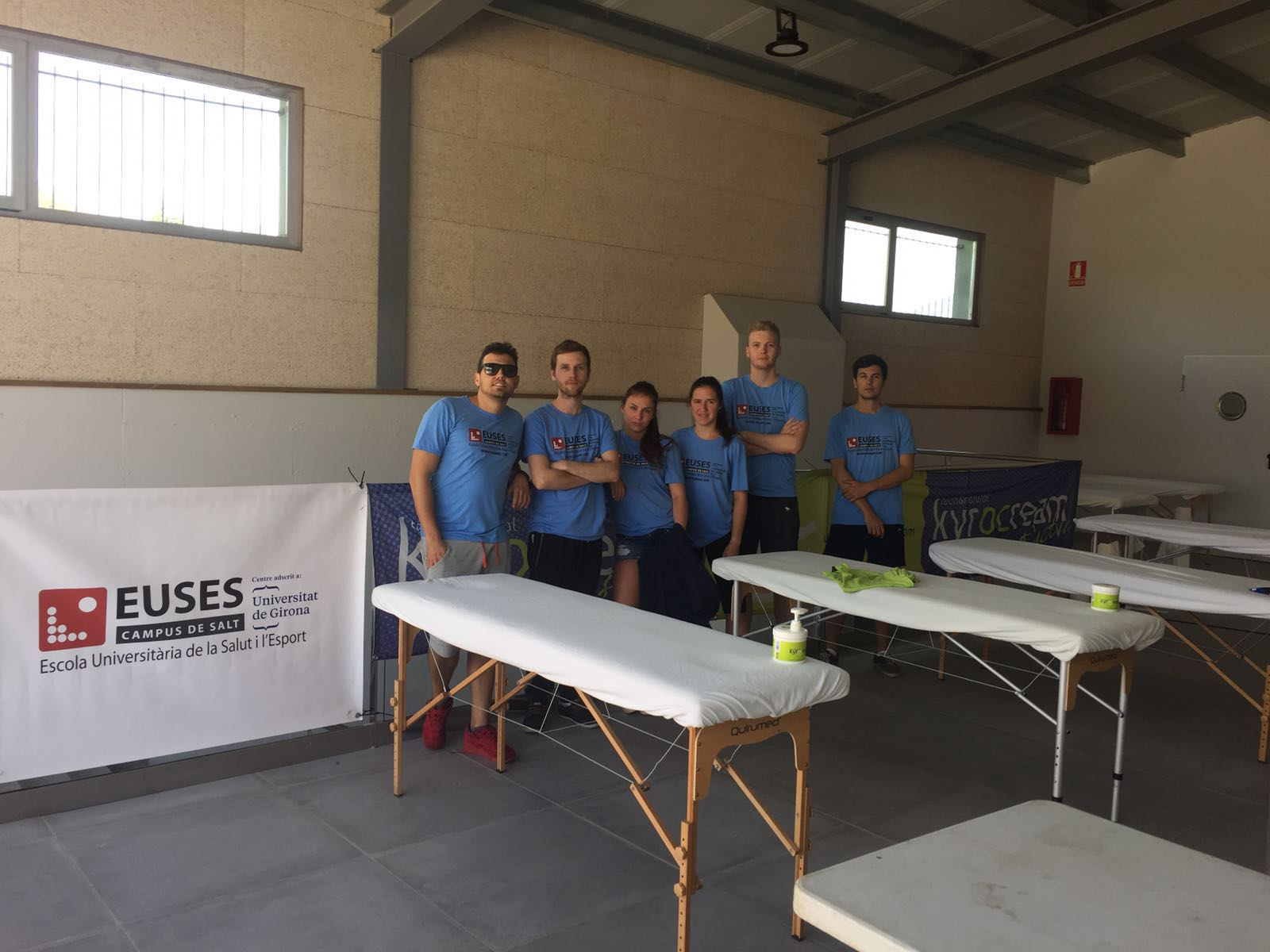 EUSES, present a Puigcerdà per recuperar els ciclistes de la Cerdanya MTB Challenge