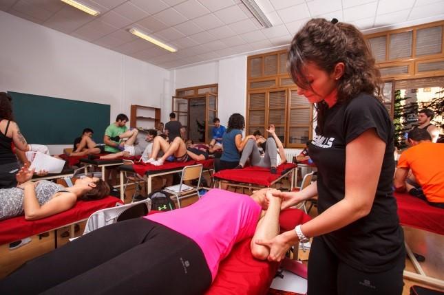 El Grau en Fisioteràpia d'EUSES Terres de l'Ebre aposta per l'especialització i el seguiment personalitzat