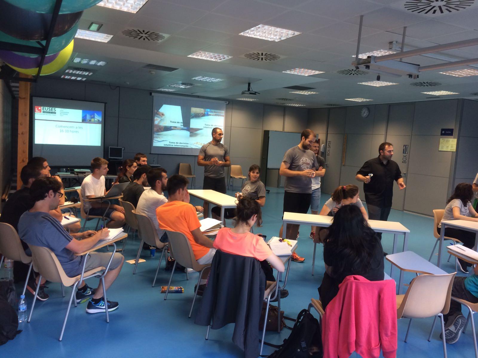 L'oferta de formació continuada d'EUSES per al curs 2017/18 en Ciències de l'Activitat Física i l'Esport inclou una jornada, un seminari i quatre cursos de post-Grau