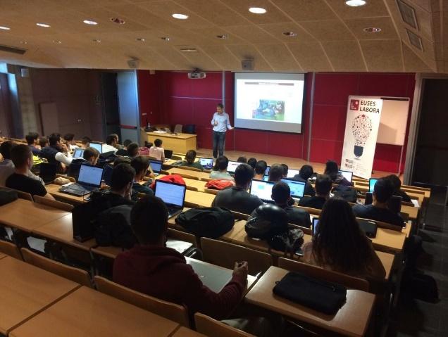 EUSES organitza un cop més la jornada EUSES Labora, destinada als alumnes de 4t curs del Grau en Ciències de l'Activitat Física i l'Esport