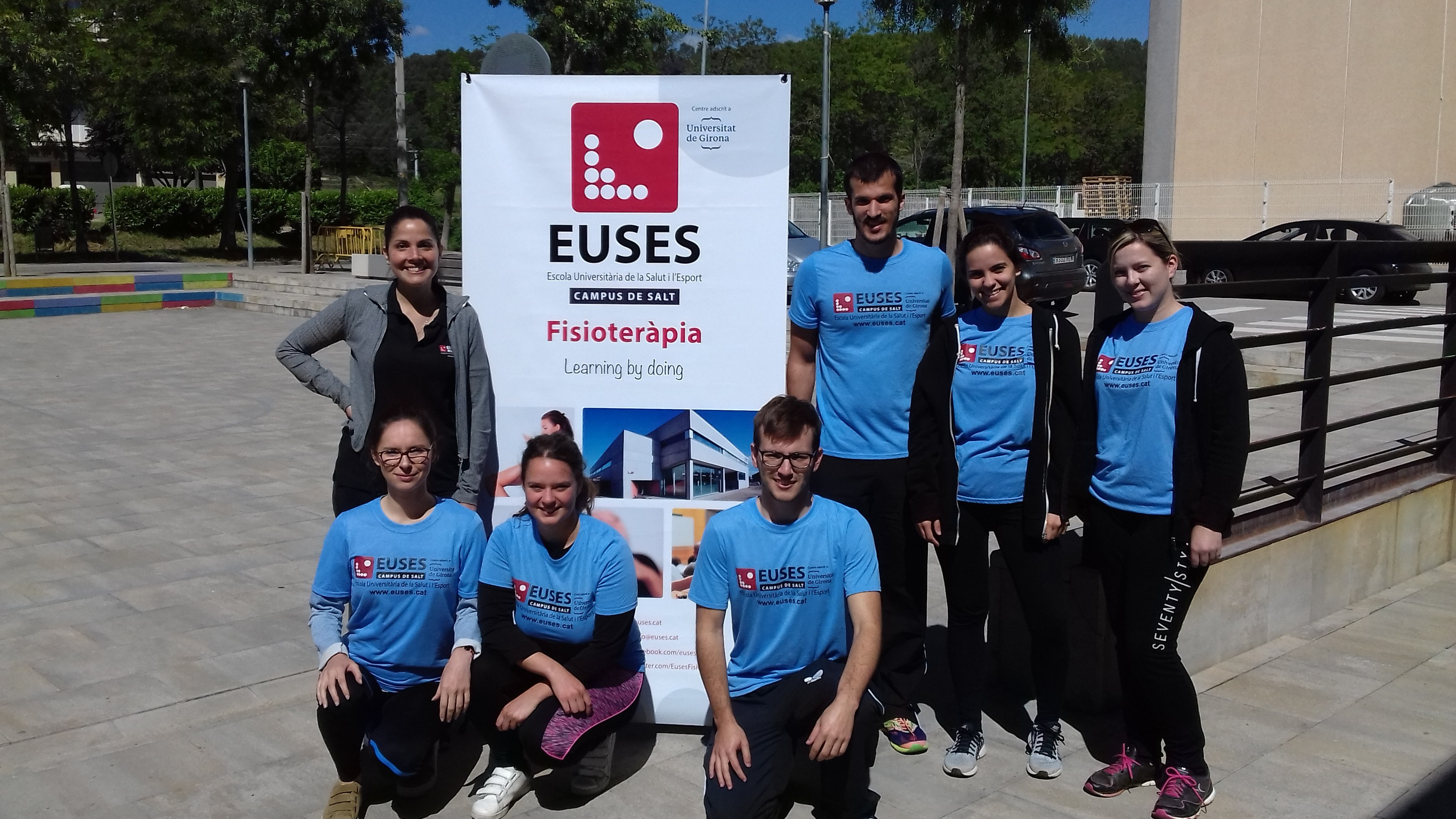 EUSES col·labora en la 2a edició de la cursa solidària de primavera de Sant Julià de Ramis