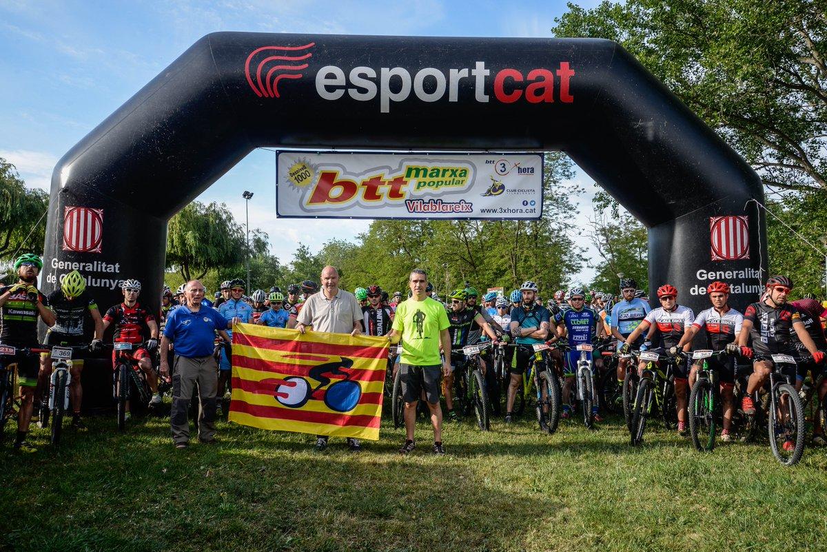 Estudiants del Grau en Fisioteràpia d'EUSES recuperen els ciclistes de la 12a marxa en BTT celebrada a Vilablareix