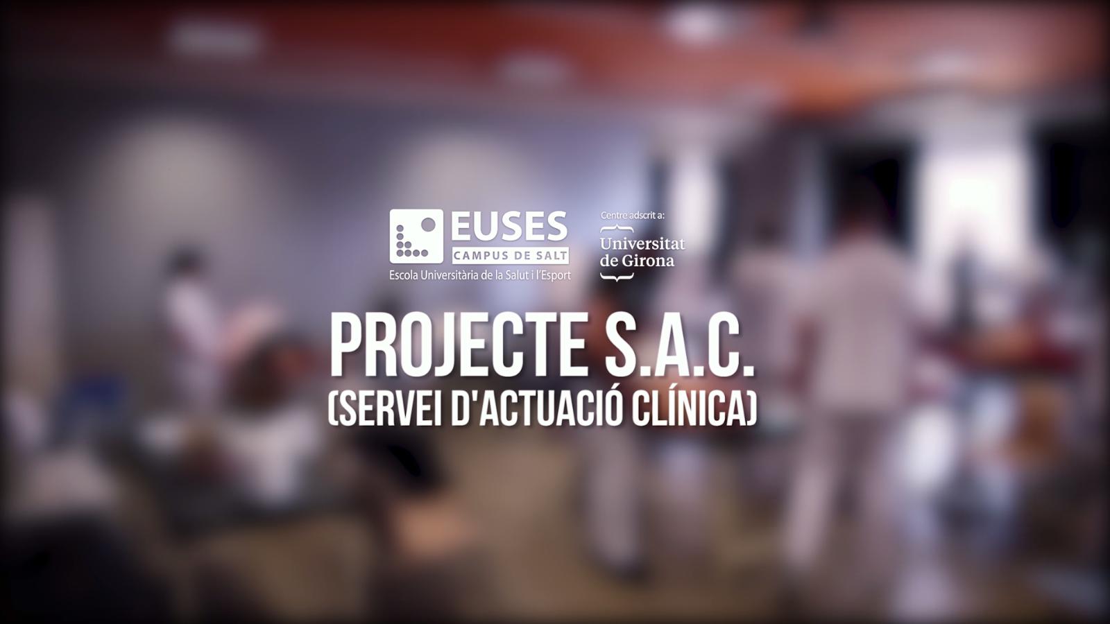 Els beneficis del projecte SAC del Grau en Fisioteràpia d'EUSES-UdG, de la mà de dos dels seus professors, pacients i alumnes