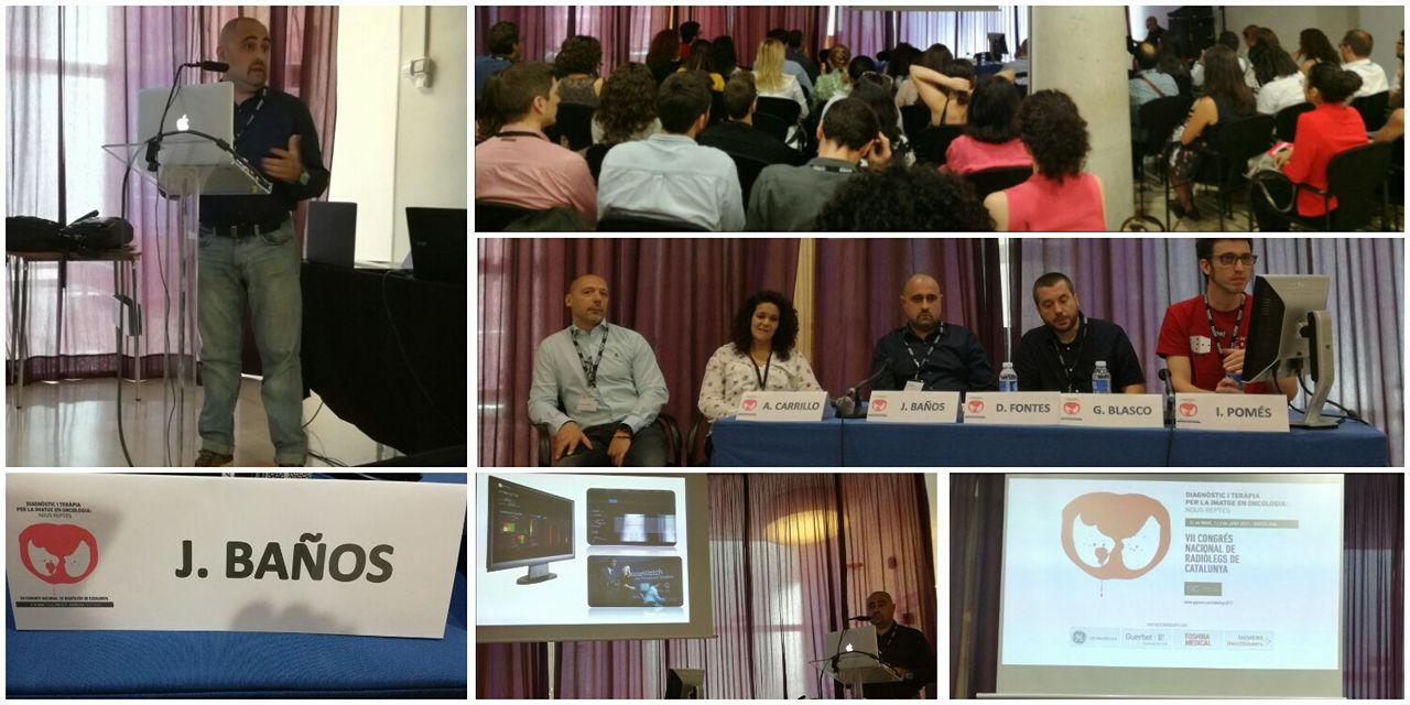 Tres professors del Centre Privat Garbí participen en el 7è Congrés Nacional de Radiòlegs de Catalunya celebrat a Barcelona