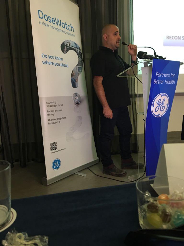 Conferència del coordinador d'Imatge per al Diagnòstic del Centre Garbí, Joan Baños, en el Congrés SEFM-SEPR celebrat a Girona