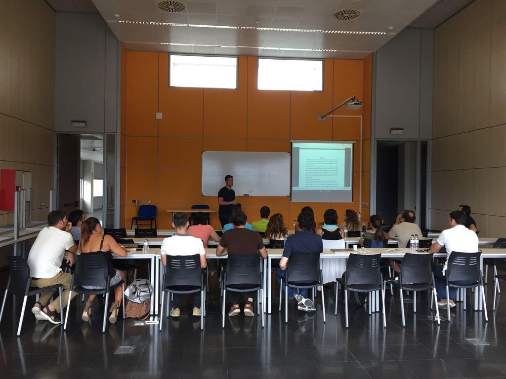Els professors Adrià Martín, Mariano Gacto i Alexander Latinjak organitzen una jornada de formació interna a EUSES adreçada a tot l'equip docent