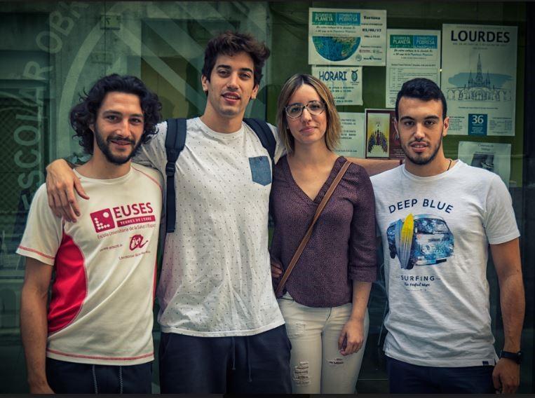 El Grado en Fisioterapia de EUSES Terres de l'Ebre apuesta por el 'learning by doing' con proyectos como el del SAC