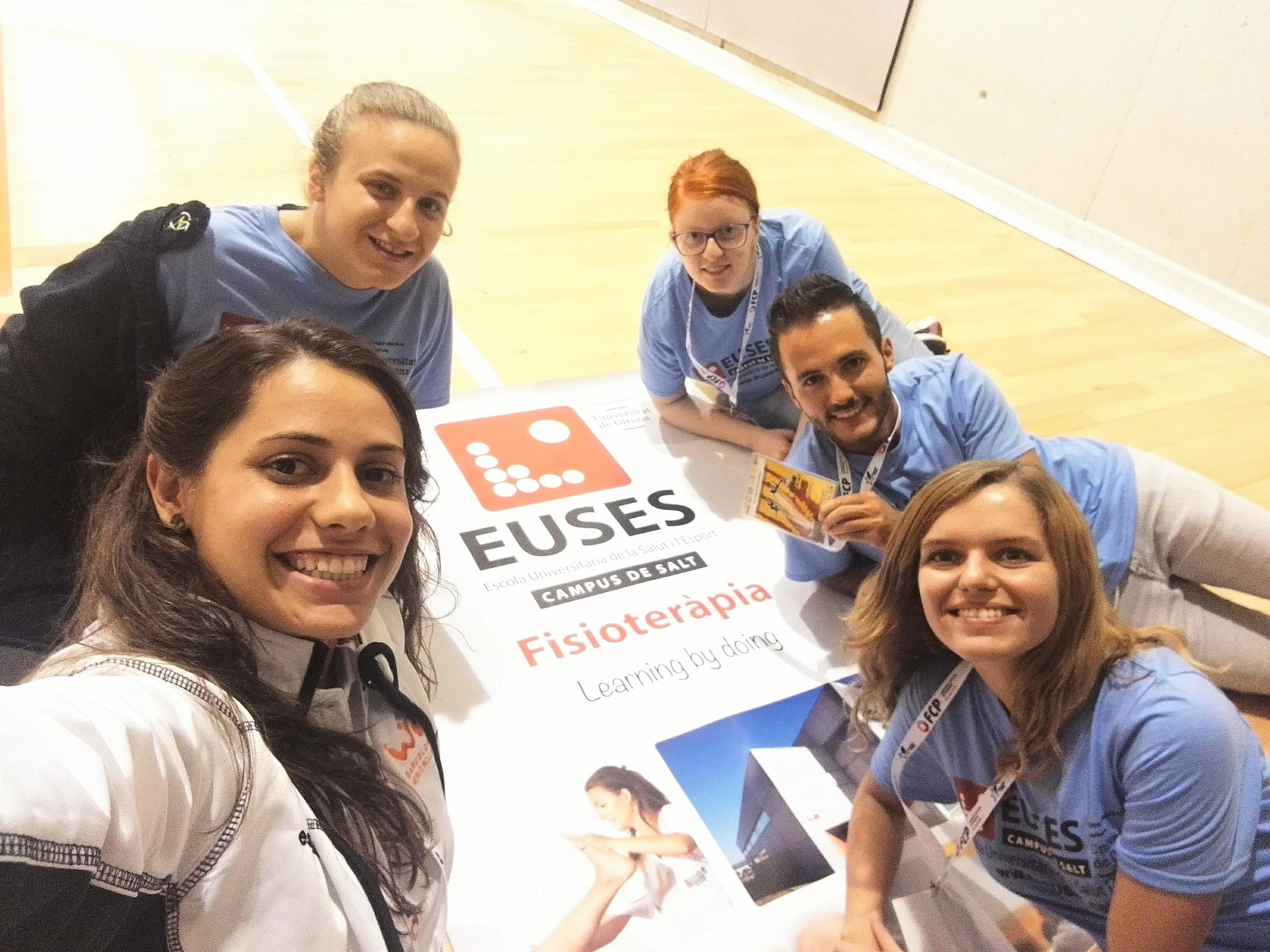 L'Escola Universitària de la Salut i l'Esport, en el Catalunya Stars de Patinatge celebrat a Fontajau