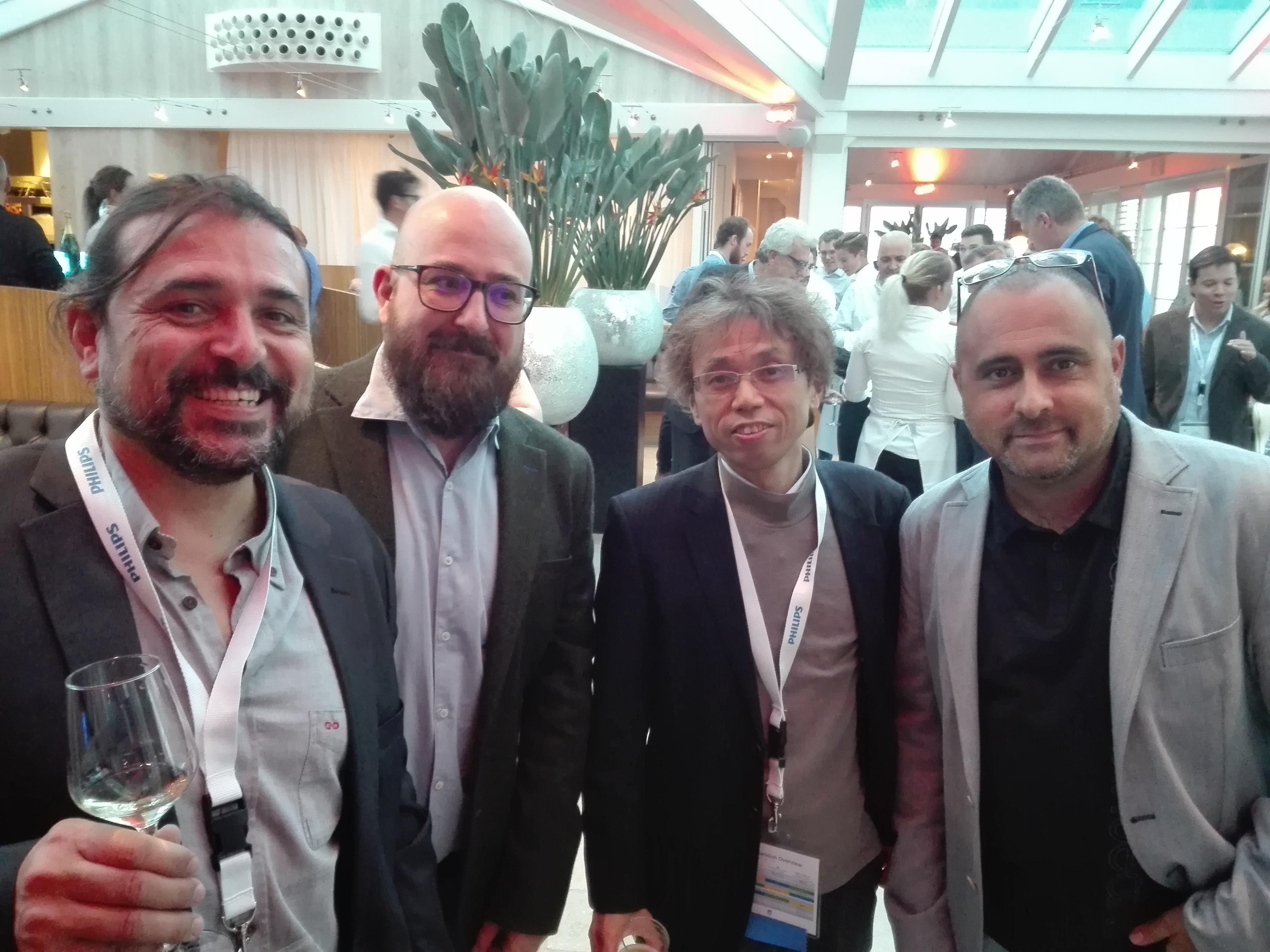 El coordinador del cicle formatiu d'Imatge per al Diagnòstic Joan Baños en el 13h MDCT Users Meeting celebrat a Amsterdam