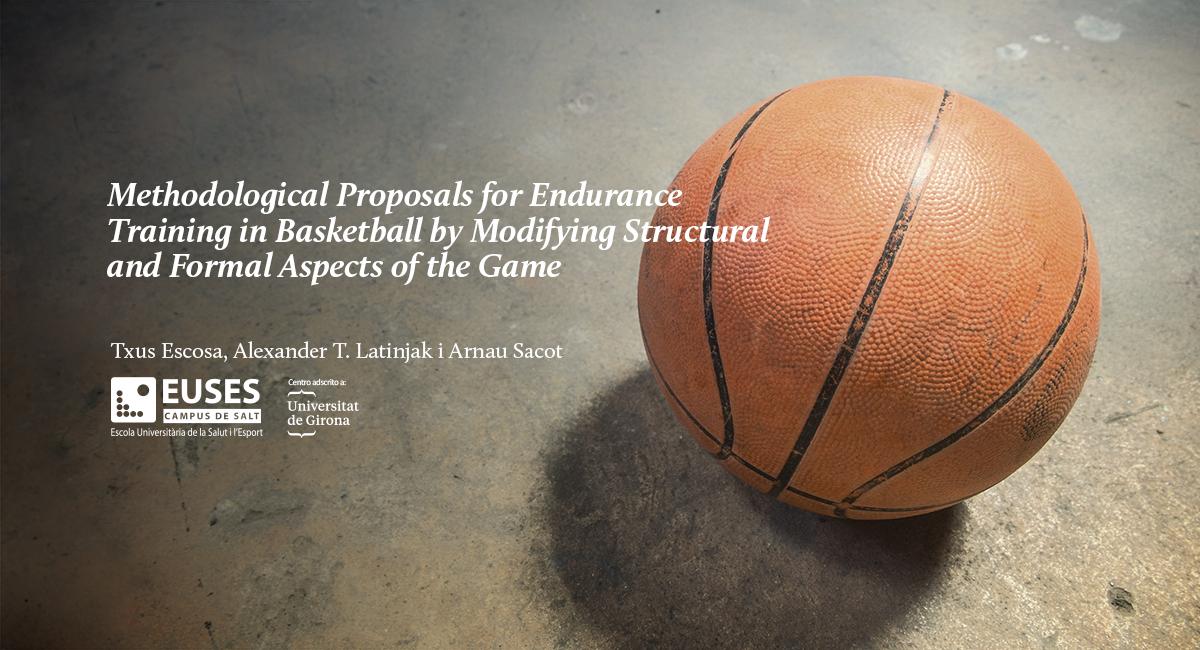 Com es poden planificar o controlar les càrregues de resistència en bàsquet? Coneix l'estudi publicat a la 'Revista Internacional de Ciencias del Deporte', elaborat per tres experts del món de l'esport, vinculats amb  EUSES-UdG, la Universitat de la Salut i l'Esport