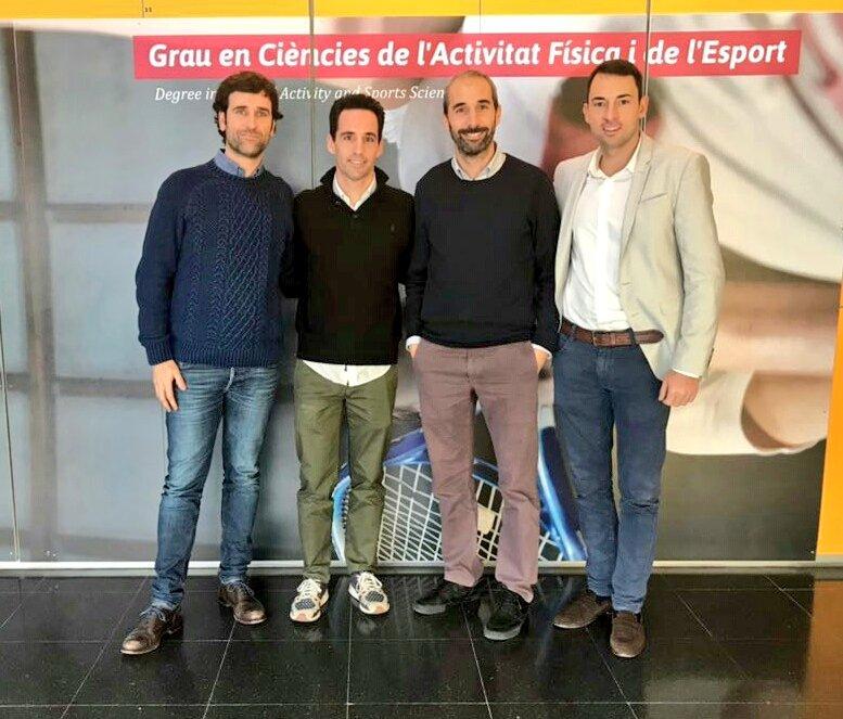 """Ponències de Pablo García i Àlex Rivera dins la jornada """"Esport i Empresa"""" organitzada per EUSES i emmarcada en l'assignatura """"Professió i reptes de futur del graduat en CAFE"""""""