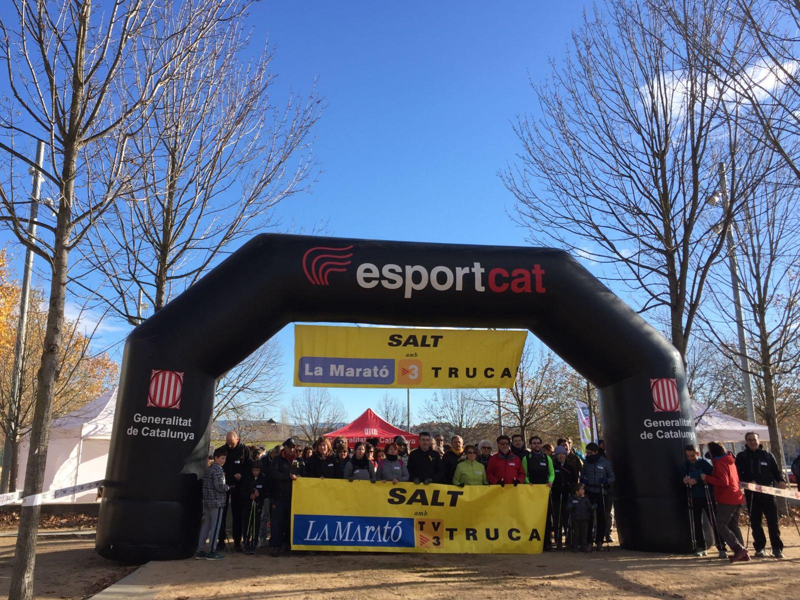 EUSES, l'Ajuntament de Salt i la Generalitat organitzen conjuntament, per tercer any, la Marató de TV3 de Salt