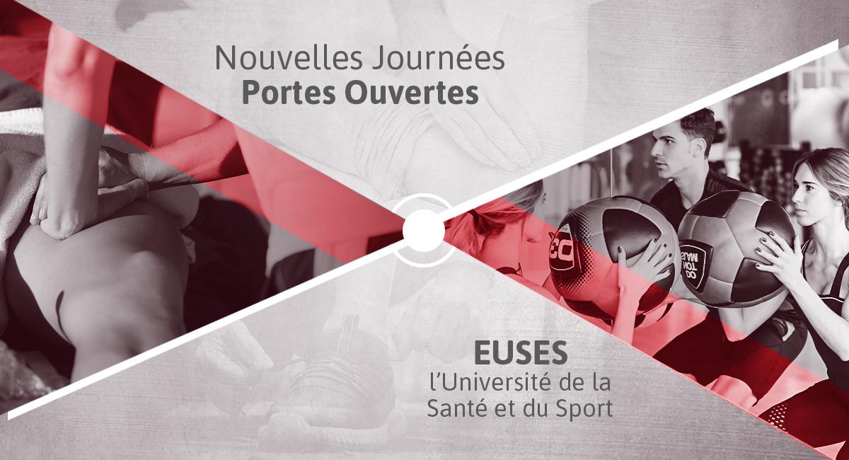Nouvelle Journée Portes Ouvertes, EUSES l'université de la Santé et du Sport