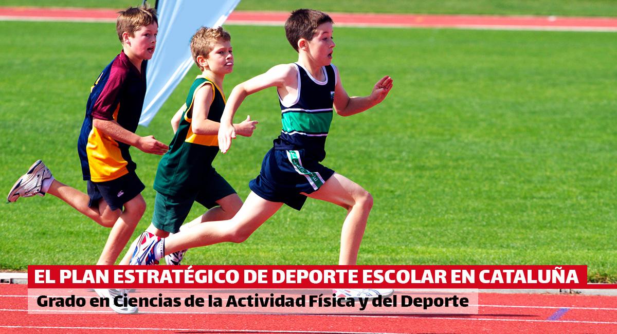 El Plan Estratégico de Deporte Escolar en Cataluña propone consolidar e incrementar la práctica de la actividad física entre los niños y adolescentes