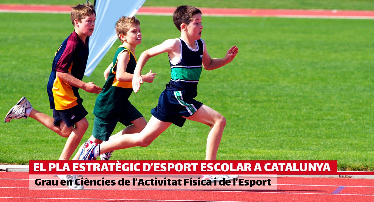 El Pla Estratègic d'Esport Escolar a Catalunya proposa consolidar i incrementar la pràctica de l'activitat física entre els infants i adolescents