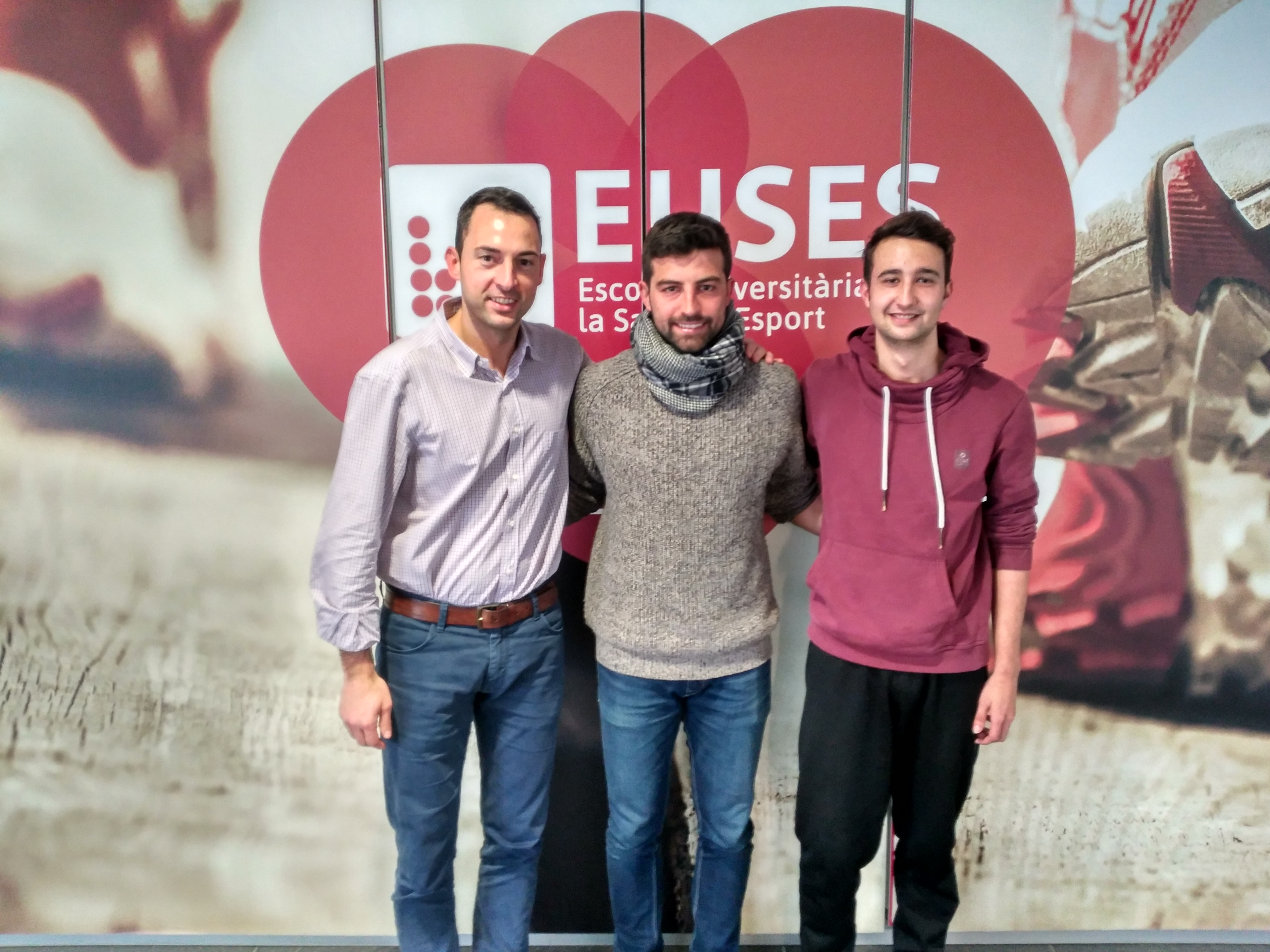 L'Escola Universitària de la Salut i l'Esport renova l'acord per realitzar pràctiques de CAFE en el primer equip de la UE Llagostera de futbol