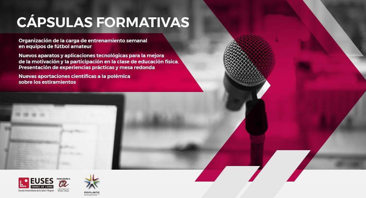 EUSES-URV presenta las nuevas Cápsulas Formativas Gratuitas