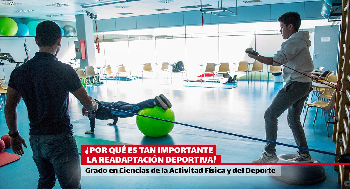 ¿Por qué es tan importante la readaptación deportiva? Estudia el Grado de Ciencias de la Actividad Física i del Deporte en EUSES-UdG