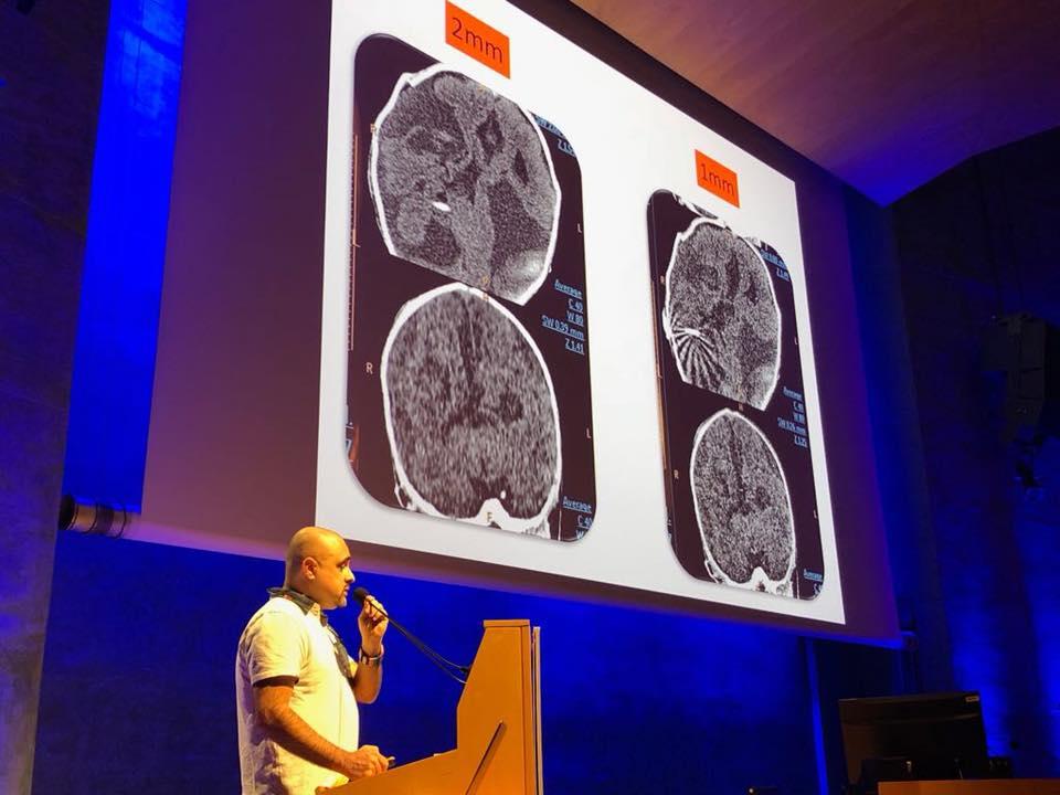 Ponència del coordinador del cicle d'Imatge del Centre Garbí Joan Baños en la 6a edició del Congrés Nacional de Tècnics Superiors en Imatge per al Diagnòstic celebrat a Barcelona