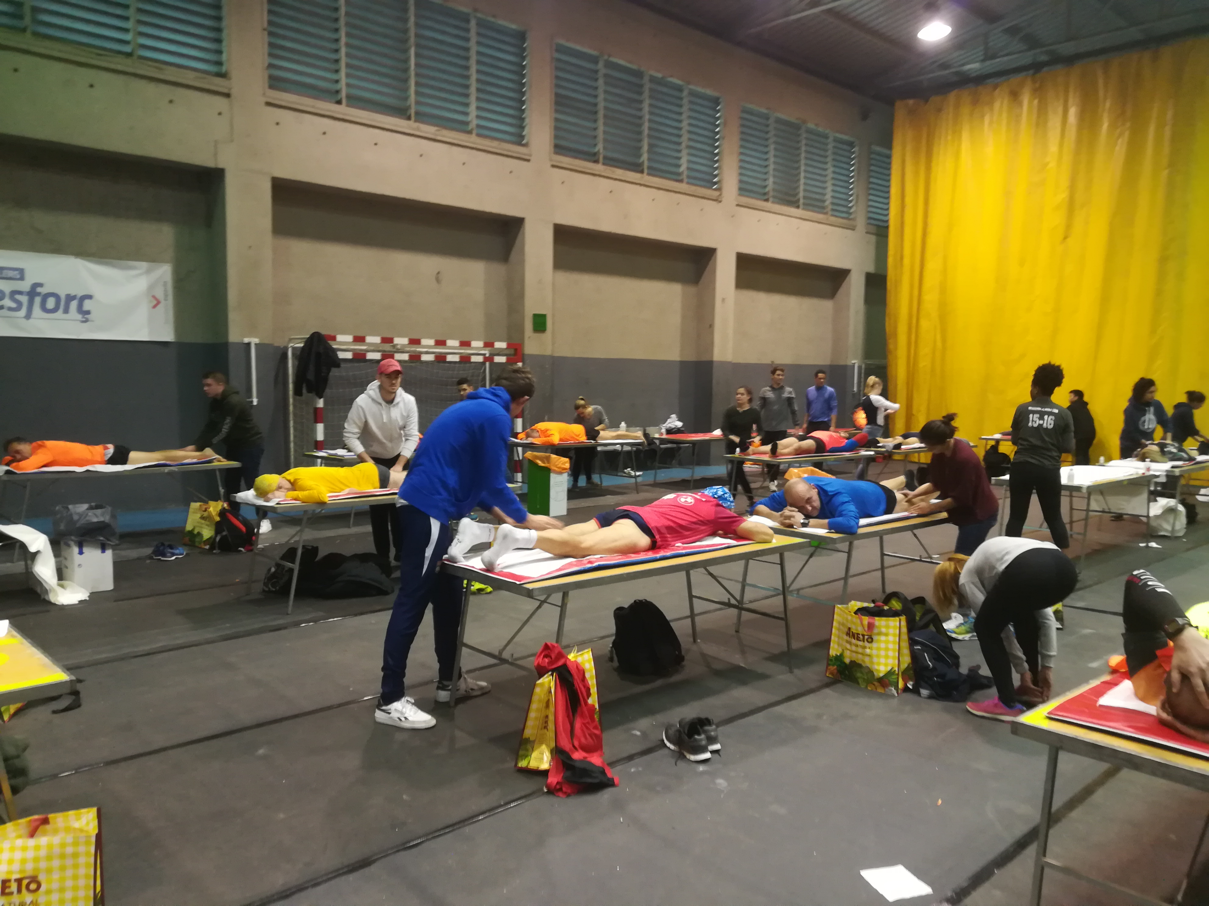 L'Escola Universitària de la Salut i l'Esport s'aboca en una nova edició de la mitja marató de Granollers