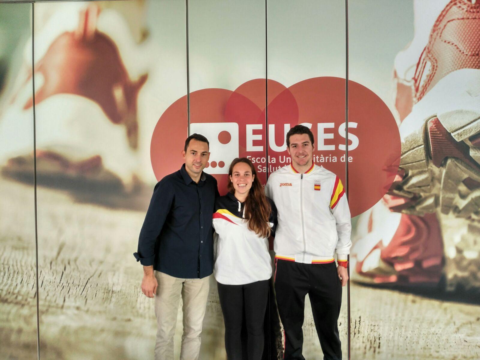 L'alumna de 1r curs de CAFE d'EUSES Iris Castell, campiona de llarga distància i sisena en ergòmetre en els estatals de rem celebrats a Galícia