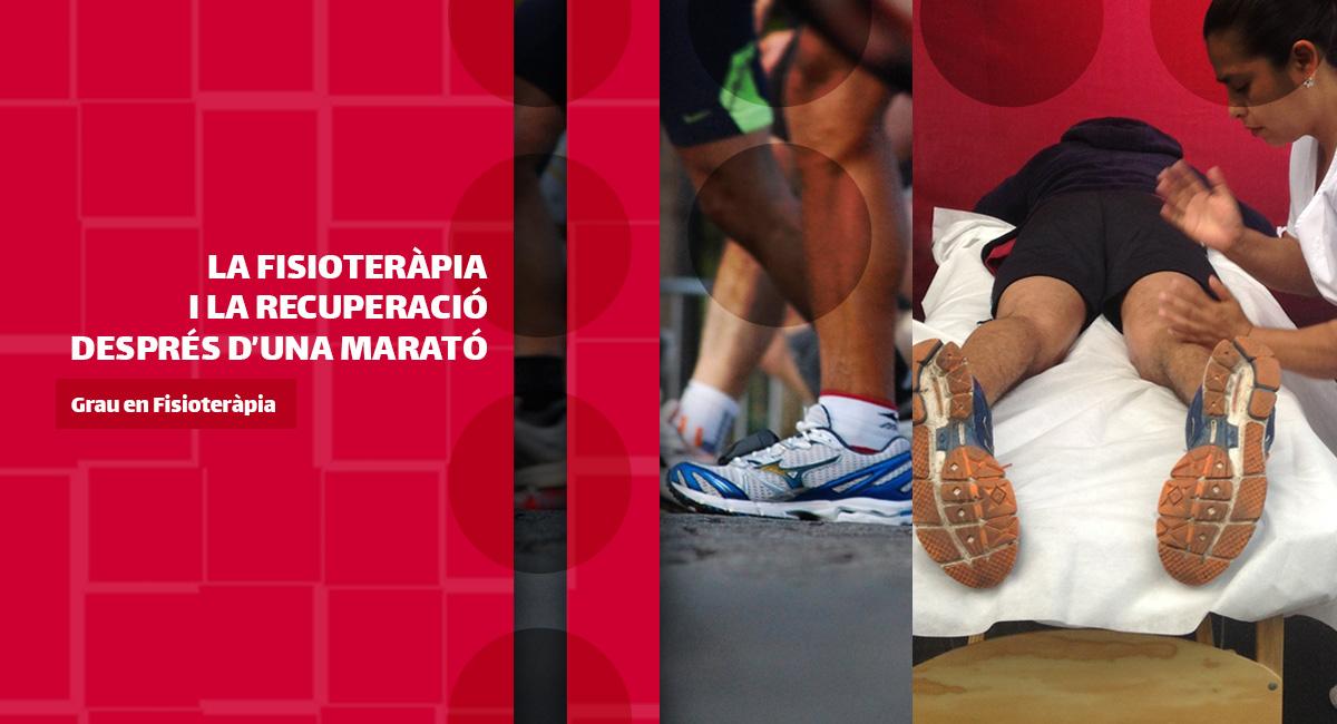 La fisioteràpia i la recuperació després d'una marató