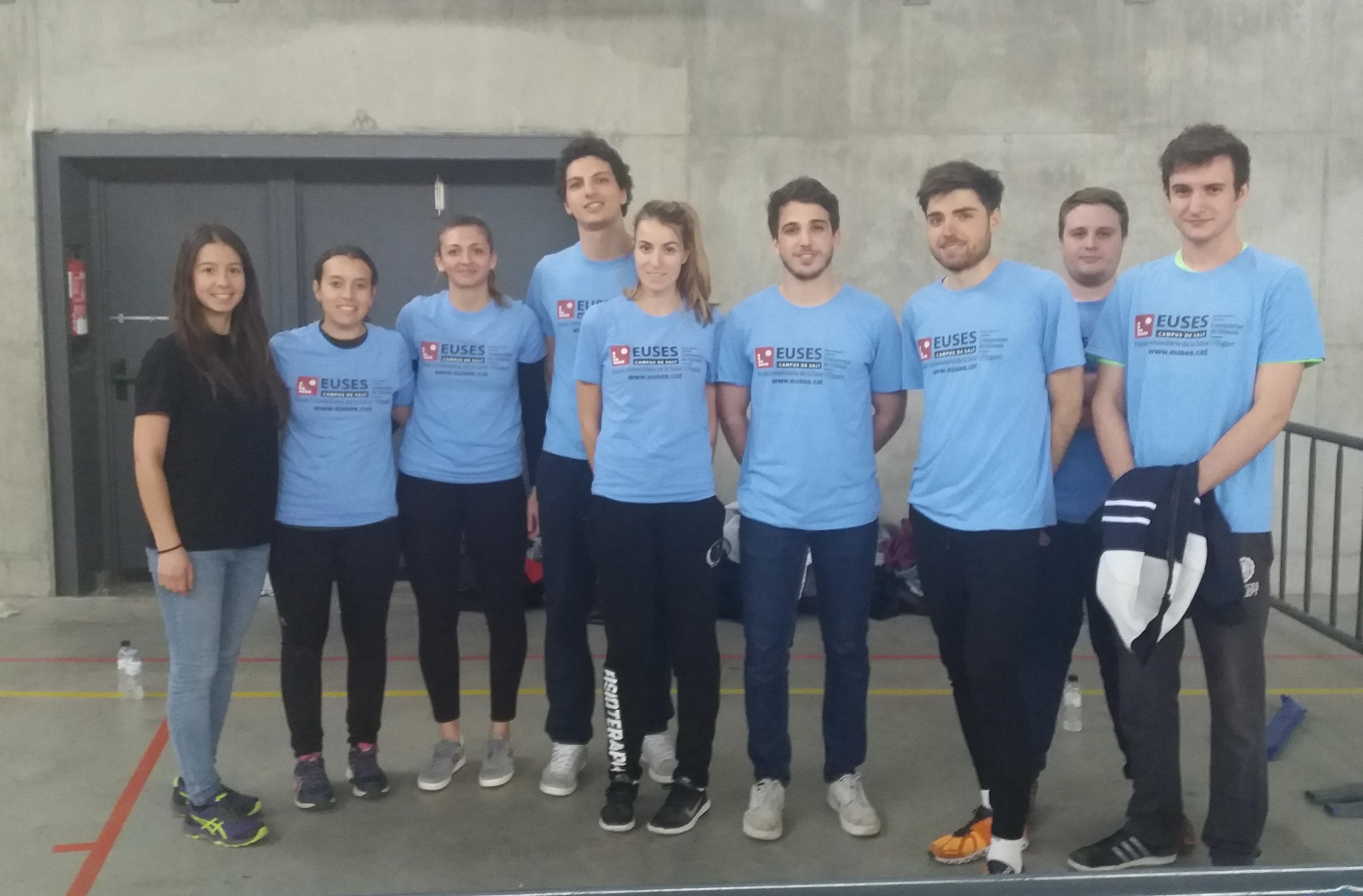 L'Escola Universitària de la Salut i l'Esport col·labora un any més en la cursa de muntanya Entre Castells, a Vilajuïga