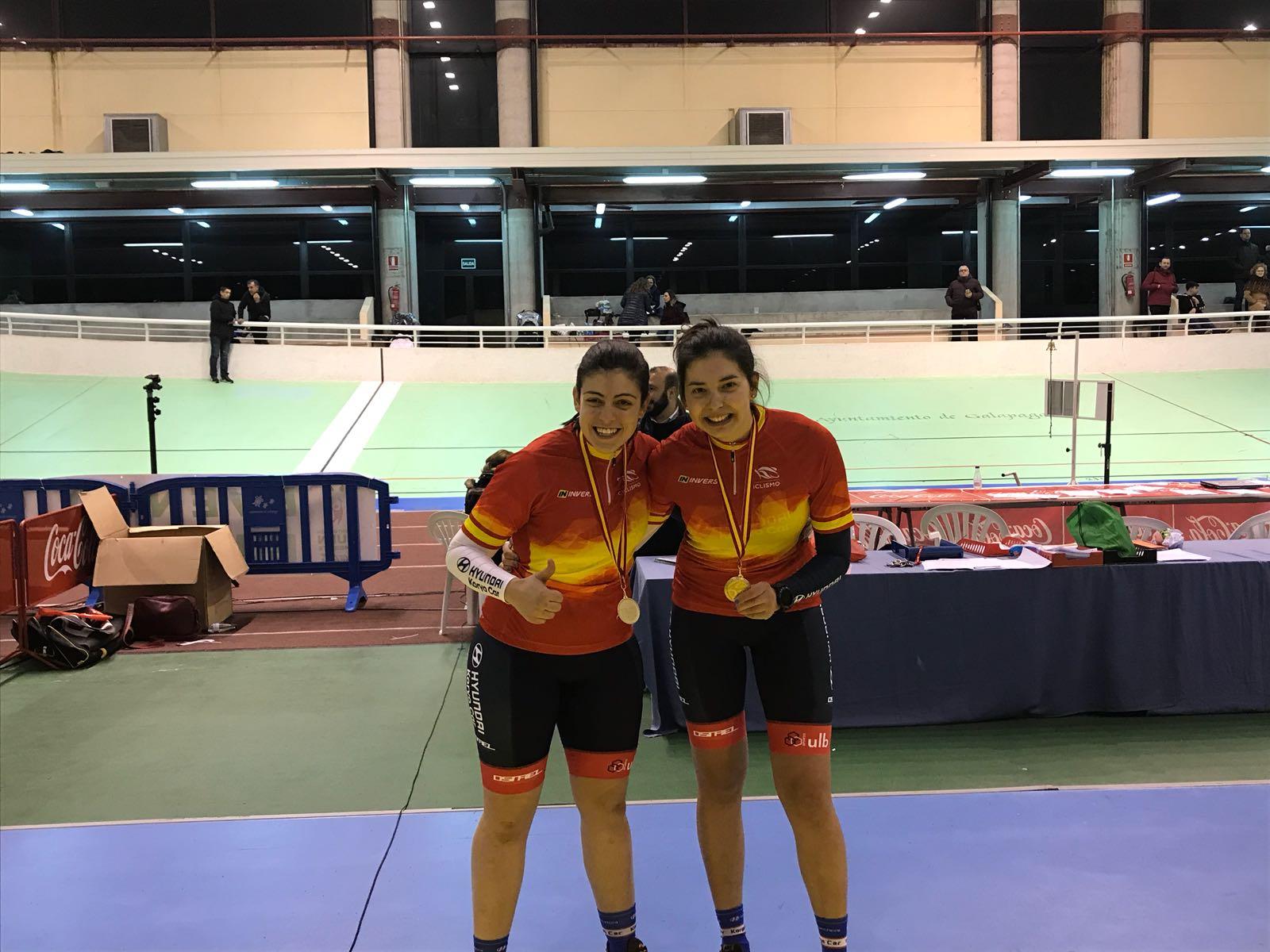 L'alumna de 3r de CAFE Esther Villaret obté la medalla d'or en persecució individual i en el quilòmetre en els campionats d'Espanya de ciclisme adaptat