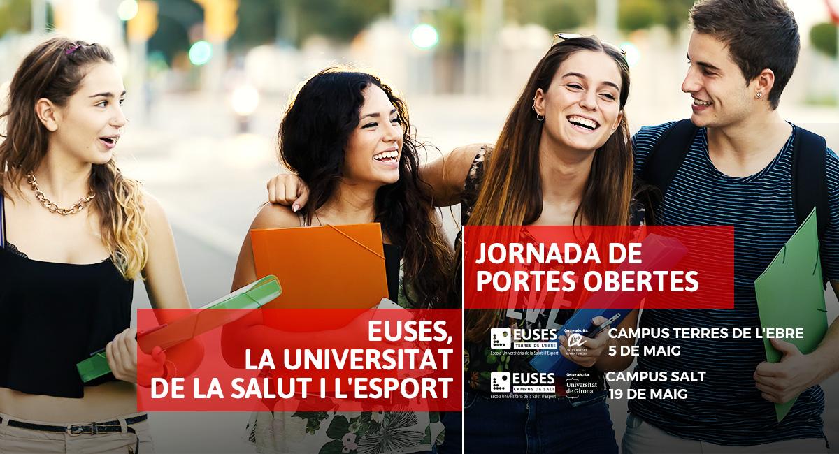 Noves Jornades de Portes Obertes a EUSES, la Universitat de la Salut i de l'Esport