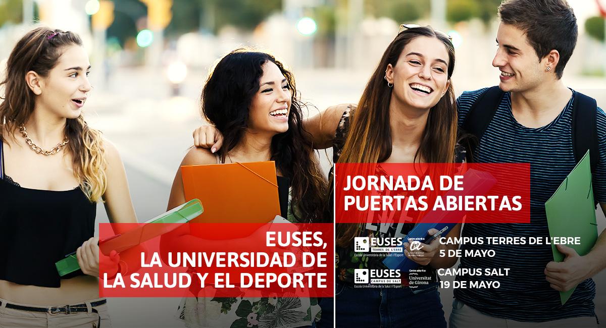 Nuevas Jornadas de Puertas Abiertas a EUSES, la Universidad de la Salud y del Deporte