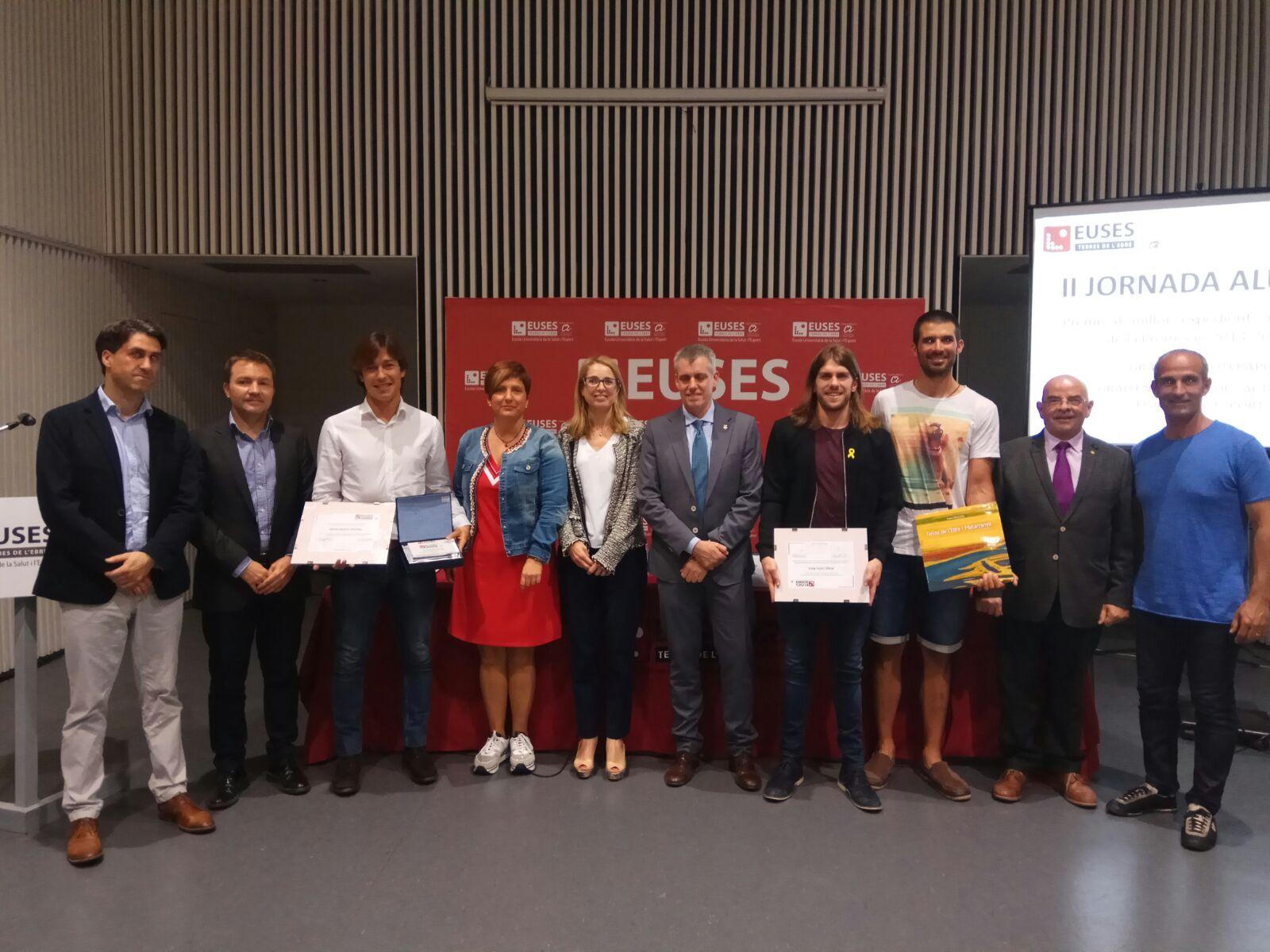 Celebrada amb èxit al Centre Cívic de Tortosa la 2a jornada anual d'EUSES Alumni de les Terres de l'Ebre, amb el remer olímpic Pau Vela de convidat especial