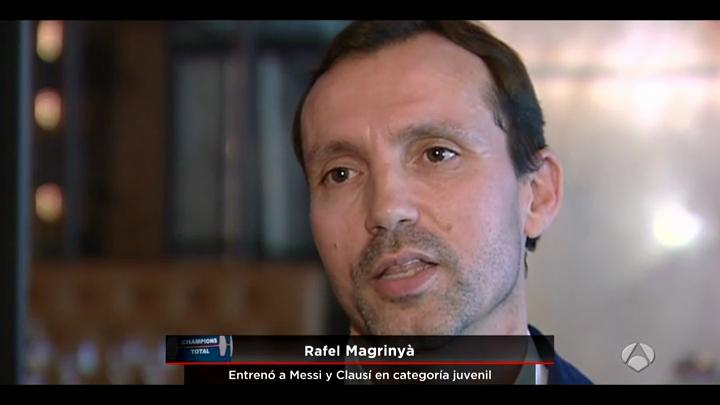 El director acadèmic d'EUSES, Rafel Magrinyà, és un dels protagonistes d'un reportatge d'Antena 3 de Messi, a qui va entrenar al Barça juvenil