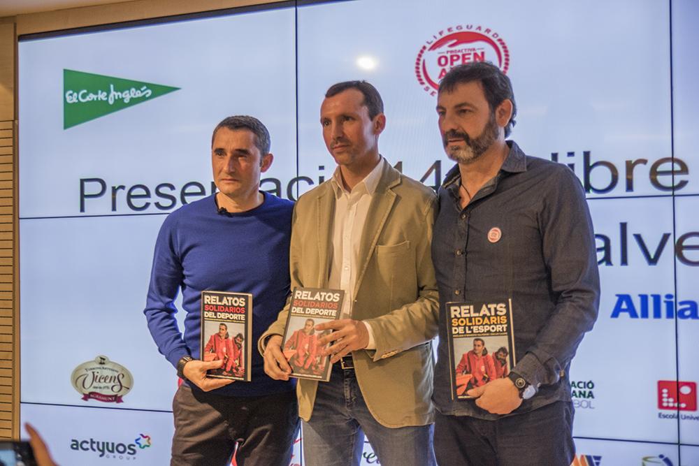 EUSES aposta per la solidaritat col·laborant amb el llibre 'Relats Solidaris de l'Esport'