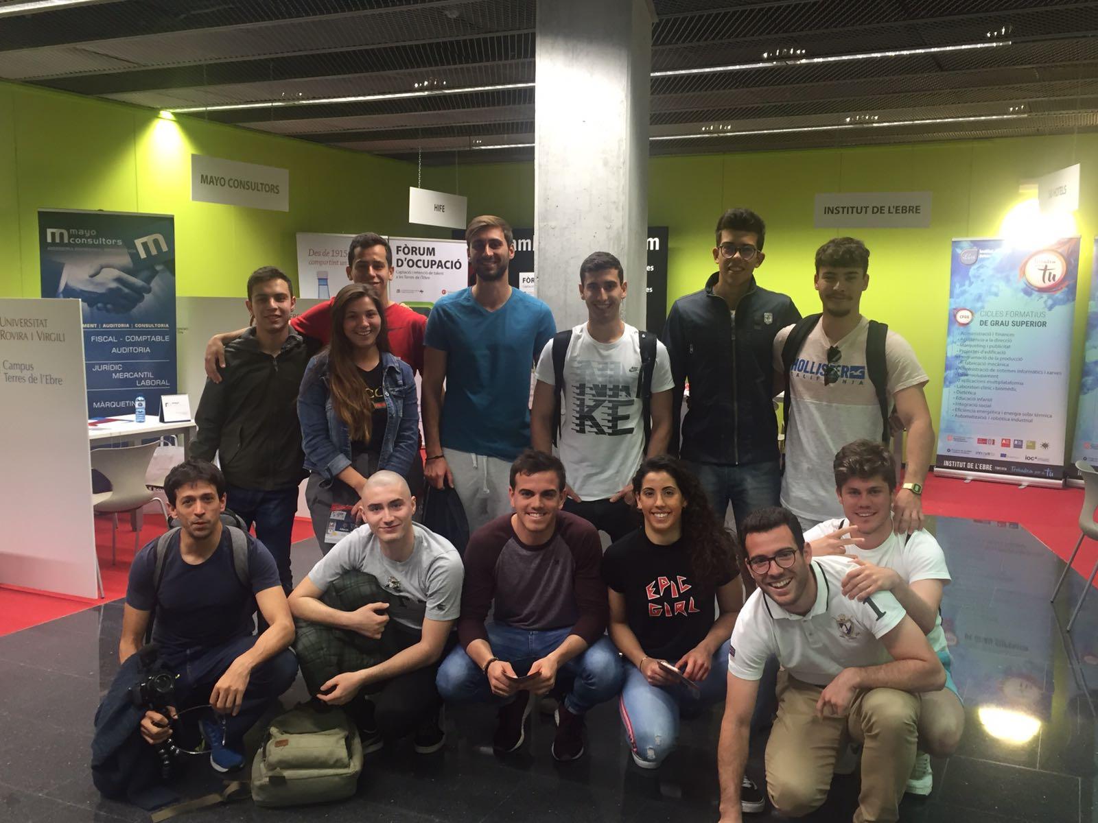 Els alumnes d'EUSES-URV participen en el VI Fòrum d'ocupació Terres de l'Ebre – URV