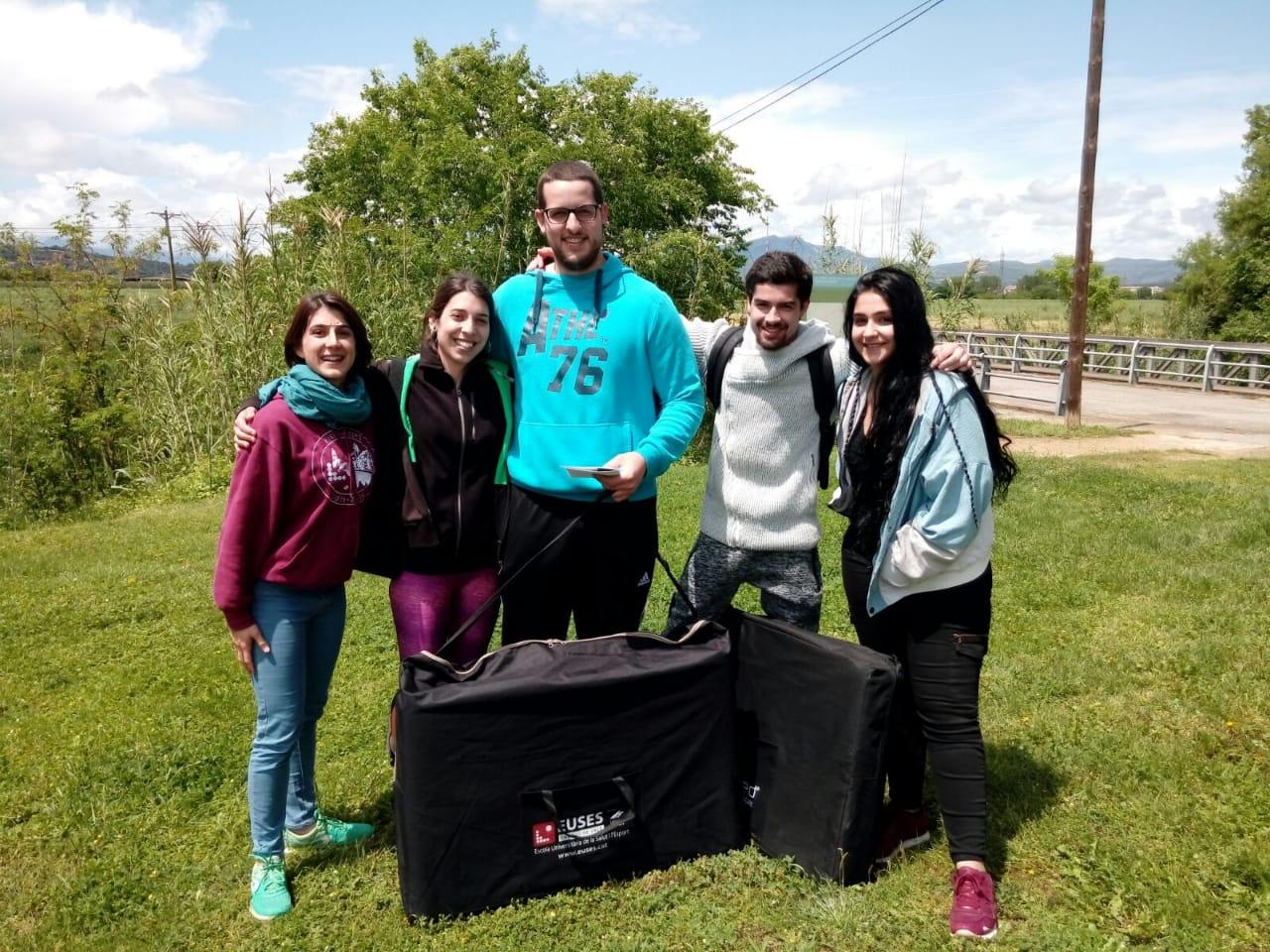 L'Escola Universitària de la Salut i l'Esport recupera els participants de la marxa de BTT de Vilablareix