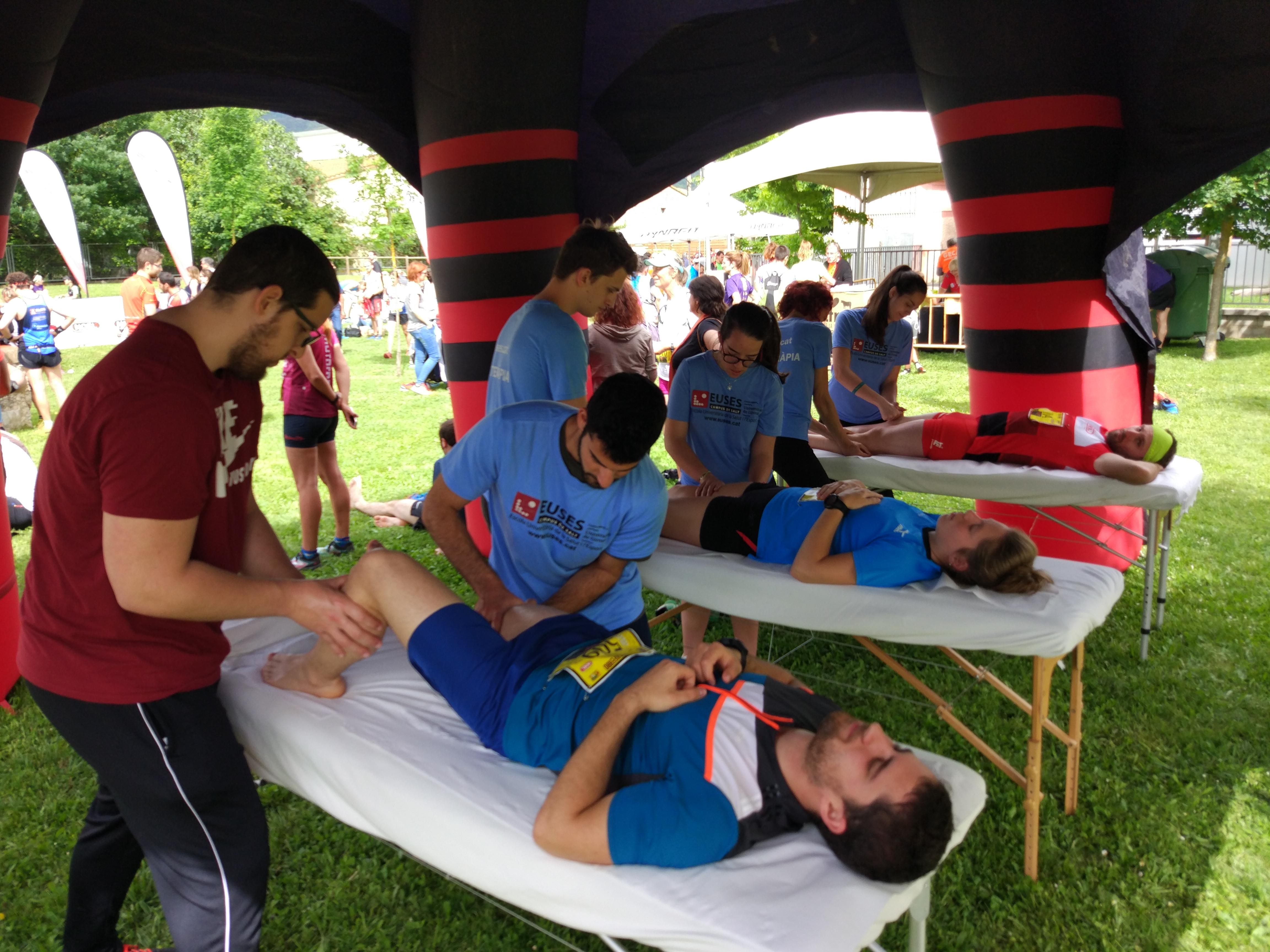 L'Escola Universitària de la Salut i l'Esport col·labora en una nova edició de la cursa de muntanya Cames de Ferro, al Puigsacalm