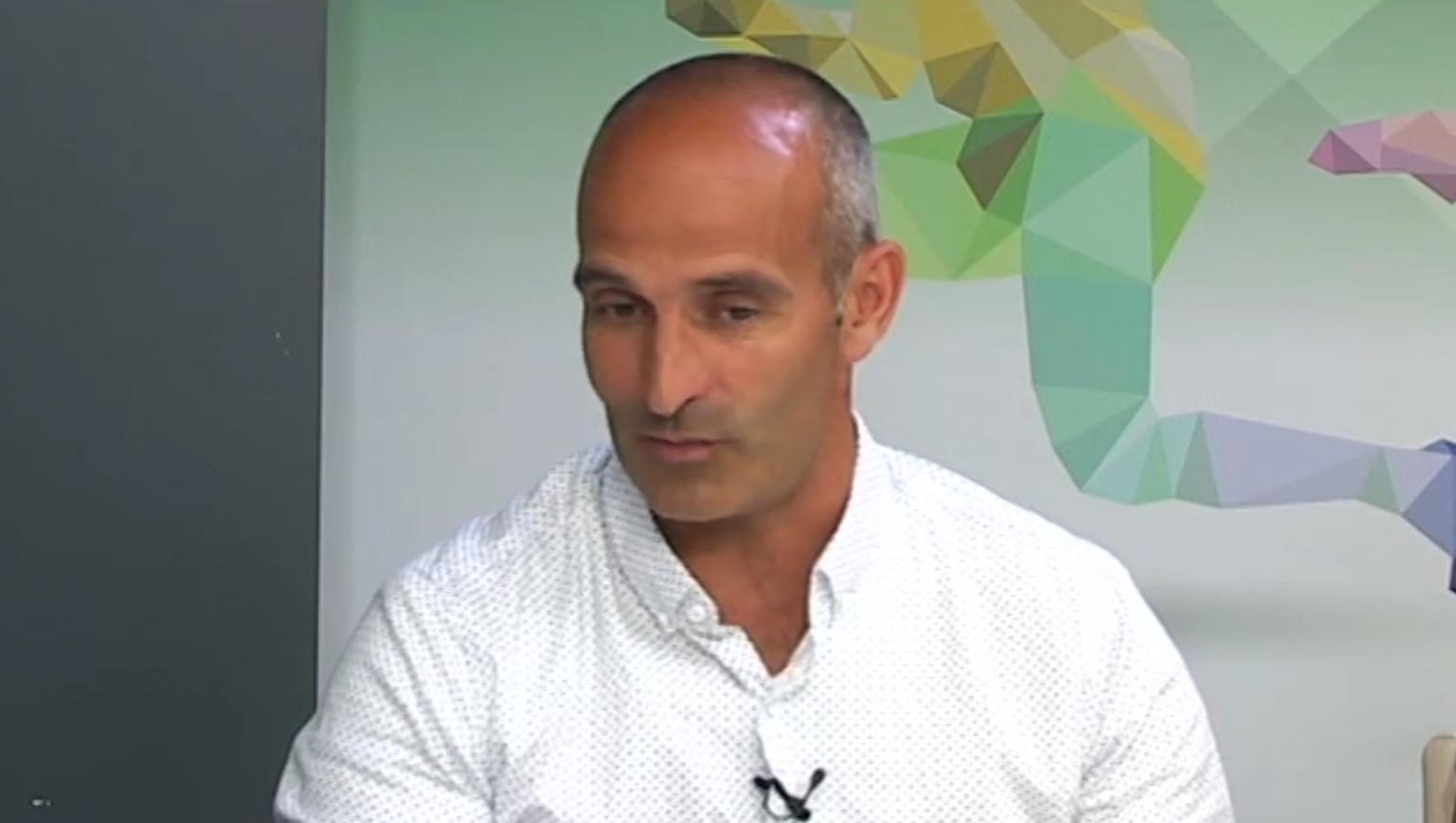 Pau Cecília és entrevistat a 'Tot l'Esport', a la televisió local 'xip/tv'