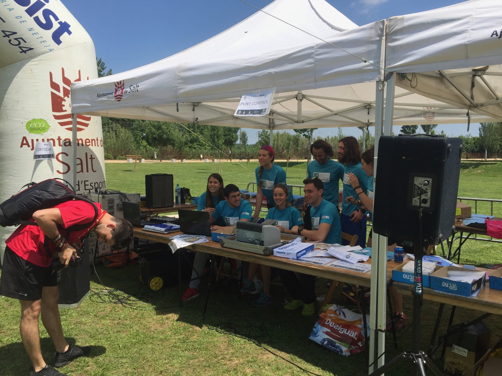 """L'equip """"Els Profes"""" s'imposa la cinquena edició de l'EUSES Raid, organitzat pels alumnes de 3r del Grau en Ciències de l'Activitat Física i l'Esport"""